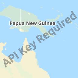 パプアニューギニア地図 - パプ...