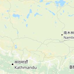Mapa de Nepal  Buscador de mapas de todo el Nepal