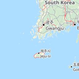 Peta Korea Selatan Worldmapfinder
